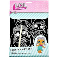 LOL Surprise Scratch Art - Lol Surprise Gifts