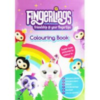 Fingerlings Jumbo Colouring Book