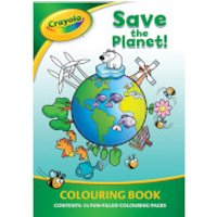 Crayola Save The Planet Colouring Book - Crayola Gifts