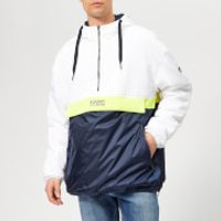 Tommy Jeans Men's Colorblock Popover Hoody - Classic White - XXL - White