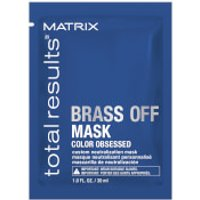 Matrix Total Results Brass Off Mask Sachet 30ml