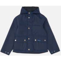 Barbour Boys Pass Jacket - Regal Blue - M/8-9 years
