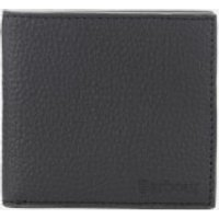 Barbour Men's Grain Leather Billfold Wallet - Black