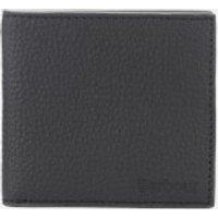 Barbour Men's Grain Leather Billfold Wallet - Black