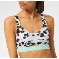 adidas Women's Stronger For It Iteration Sports Bra - Grey - 30A - Grey