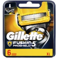Gillette Fusion5 ProShield Razor Blades (6 Pack)
