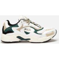 FILA Men's Luminance Trainers - White/Black/Ponderosa Pine - UK 8 - Multi