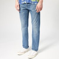 Edwin Men's Ed-80 Slim Tapered Kingston Blue Denim Jeans - Rauha Wash - W36/L34 - Blue
