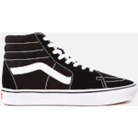 Vans ComfyCush Classic Sk8-Hi Trainers - Black/True White - UK 6