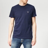 GANT Men's Original Short Sleeve T-Shirt - Evening Blue - XXL - Blue