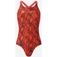 adidas by Stella McCartney Women's Swimsuit - Bold Orange - L