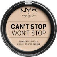 NYX Professional Makeup Can't Stop Won't Stop Powder Foundation (Various Shades) - Fair