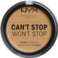 NYX Professional Makeup Can't Stop Won't Stop Powder Foundation (Various Shades) - Beige