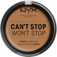 NYX Professional Makeup Can't Stop Won't Stop Powder Foundation (Various Shades) - Natural Tan