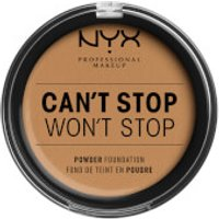 NYX Professional Makeup Can't Stop Won't Stop Powder Foundation (Various Shades) - Golden