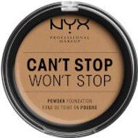NYX Professional Makeup Can't Stop Won't Stop Powder Foundation (Various Shades) - Caramel