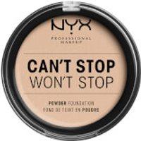 NYX Professional Makeup Can't Stop Won't Stop Powder Foundation (Various Shades) - Alabaster