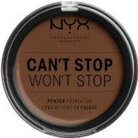 NYX Professional Makeup Can't Stop Won't Stop Powder Foundation (Various Shades) - Deep