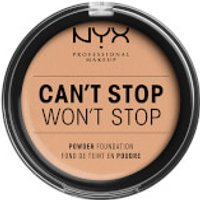 NYX Professional Makeup Can't Stop Won't Stop Powder Foundation (Various Shades) - Natural