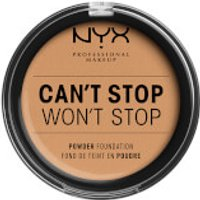 NYX Professional Makeup Can't Stop Won't Stop Powder Foundation (Various Shades) - Soft Beige