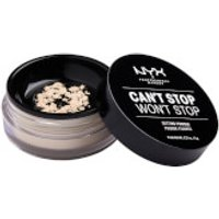 NYX Professional Makeup Can't Stop Won't Stop Setting Powder (Various Shades) - Light