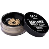NYX Professional Makeup Can't Stop Won't Stop Setting Powder (Various Shades) - Light-Medium
