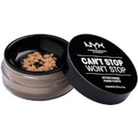NYX Professional Makeup Can't Stop Won't Stop Setting Powder (Various Shades) - Medium