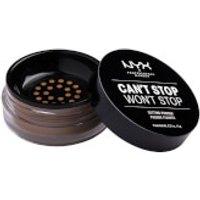 NYX Professional Makeup Can't Stop Won't Stop Setting Powder (Various Shades) - Medium Deep