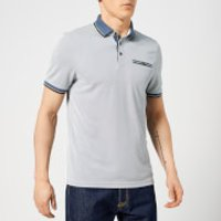Ted Baker Men's Habtat Polo Shirt - Mid-Blue - 4/L - Blue