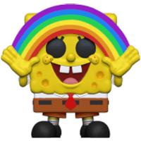 SpongeBob S3 - Spongebob with Rainbow Animation Pop! Vinyl Figure - Spongebob Gifts