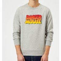 Danger Mouse Colour Logo Sweatshirt - Grey - XL - Grey