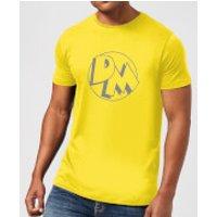 Danger Mouse Initials Men's T-Shirt - Yellow - XXL - Yellow