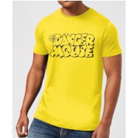 Danger Mouse Target Men's T-Shirt - Yellow - S - Yellow