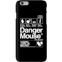 Danger Mouse 100% Secret Phone Case for iPhone and Android - iPhone 6 - Snap Case - Matte