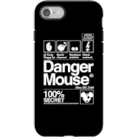 Danger Mouse 100% Secret Phone Case for iPhone and Android - iPhone 7 - Tough Case - Matte