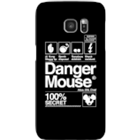 Danger Mouse 100% Secret Phone Case for iPhone and Android - Samsung S7 - Snap Case - Gloss