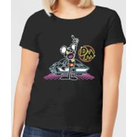 Danger Mouse 80's Neon Women's T-Shirt - Black - S - Black
