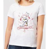 Danger Mouse DJ Women's T-Shirt - White - 5XL - White - Dj Gifts