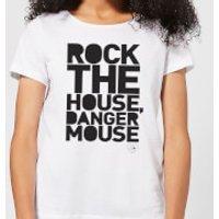 Danger Mouse Rock The House Women's T-Shirt - White - XS - White