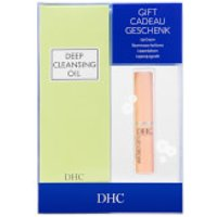 Dhc Deep Cleansing Oil And Lip Cream Gift Set (worth £32.75)