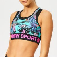 Superdry Sport Women's Active Layer Bra - Lucy Tropical Print - M - Multi
