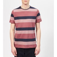 Oliver Spencer Men's Conduit T-Shirt - Raspberry Multi - XL - Red