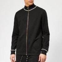 Polo Ralph Lauren Mens Loop Back Jersey Zip Top - Polo Black - L - Black