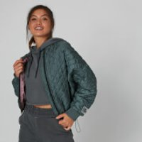 MP Quilted Bomber Jacket - Castle Rock - S