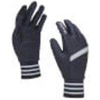 Sealskinz Solo Stretch Reflective Gloves - M - Black/grey/white