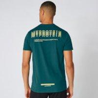 MP Crew Triple Graphic T-Shirt - Alpine - XXL
