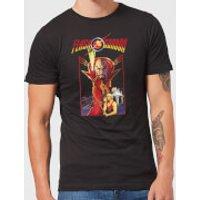Flash Gordon Retro Movie Men's T-Shirt - Black - L - Black