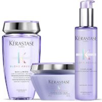 Kerastase Blond Absolu Bain Lumiere Shampoo, Treatment and Masque Trio