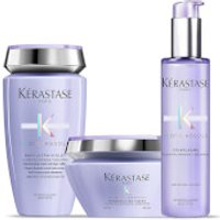 Kerastase Blond Absolu Ultra Violet Shampoo, Treatment and Masque Trio