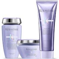 Kérastase Blond Absolu Ultra Violet Shampoo, Masque and Conditioner Trio